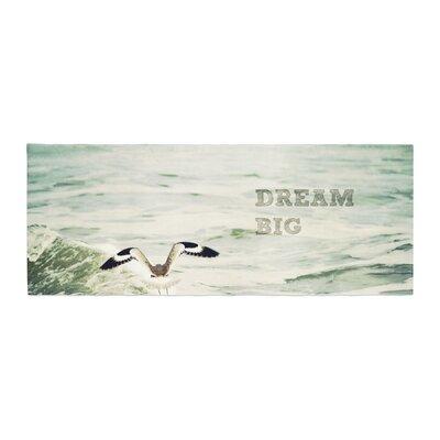 Robin Dickinson Dream Big Ocean Bird Bed Runner