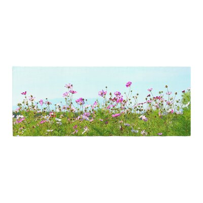 Robin Dickinson I Choose Magic Flowers Bed Runner
