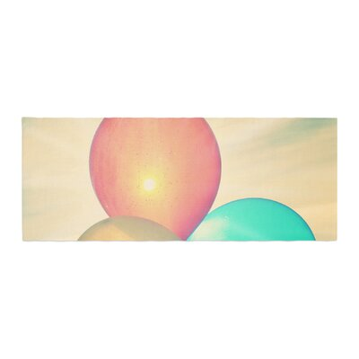Robin Dickinson Balloons Clouds Bed Runner