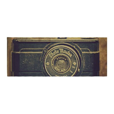 Robin Dickinson Discarded Treasure Vintage Camera Bed Runner