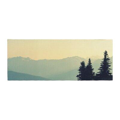 Robin Dickinson a Wonderful World Landscape Bed Runner