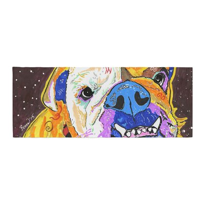 Rebecca Fisher Tucker Bulldog Bed Runner