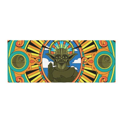 Roberlan Darth Yoda Star Wars Bed Runner