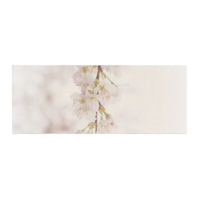 Robin Dickinson Its That Time Floral Photography Bed Runner