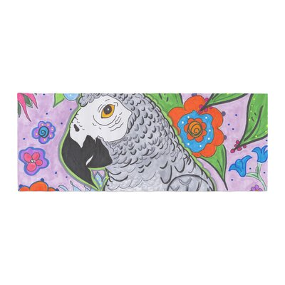 Rebecca Fisher Rio Parrot Bed Runner