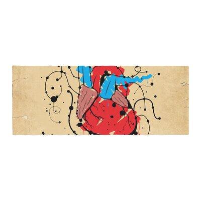Roberlan Heart Bed Runner