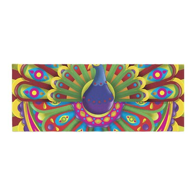 Roberlan Peacolor Peacock Bed Runner