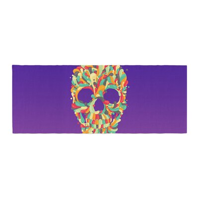 Roberlan Jelly Skull Bed Runner