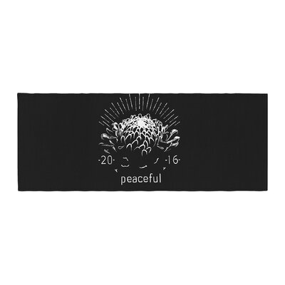 BarmalisiRTB Peaceful Tags Bed Runner
