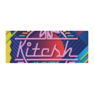 Roberlan Kitsch Neon Bed Runner