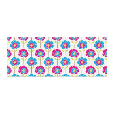 Apple Kaur Designs Lolly Flowers Bed Runner