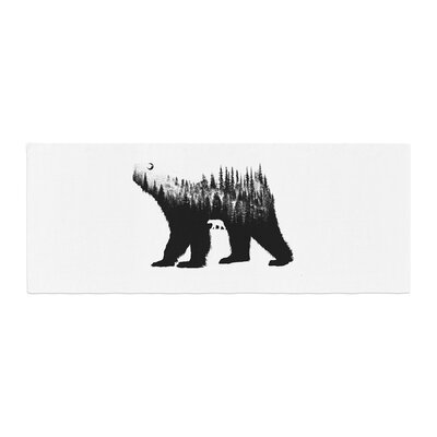 BarmalisiRTB The Bear Illustration Bed Runner