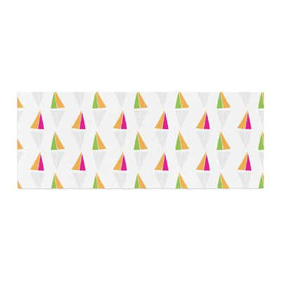 Apple Kaur Designs Triangles Bed Runner