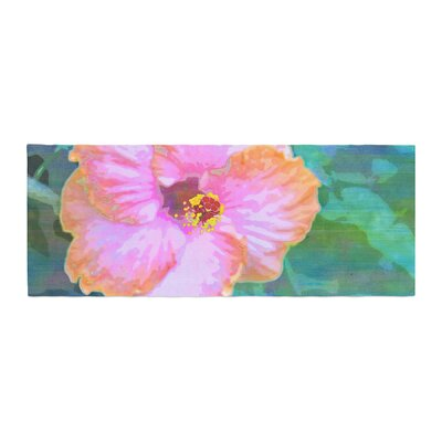 Sylvia Cook Hibiscus Bed Runner