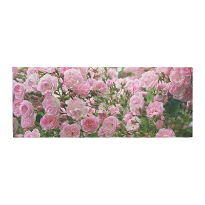Sylvia Cook The Fairy Rose Floral Bed Runner
