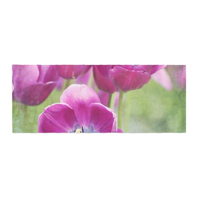 Sylvia Cook Tulips Photography Bed Runner