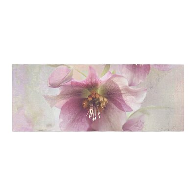 Sylvia Cook Hellabore Petals Bed Runner