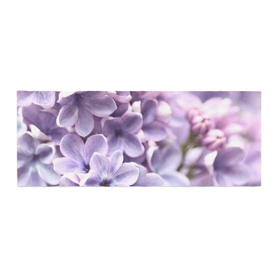 Sylvia Cook Lilac Flowers Bed Runner