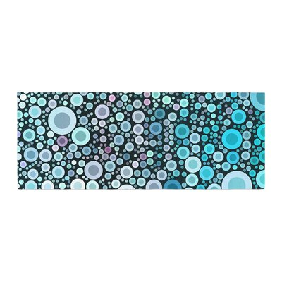 Sylvia Cook Aquatic Circles Bed Runner