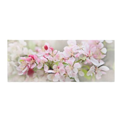 Sylvia Cook April Flowers Bed Runner