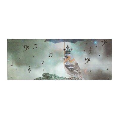 Suzanne Carter Umbrella Bird Bed Runner