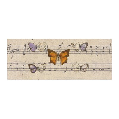 Suzanne Carter Butterfly Opera Music Bed Runner