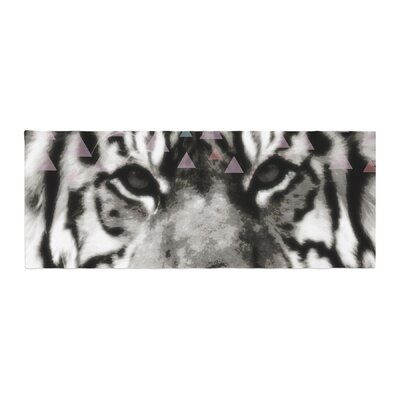 Suzanne Carter Tiger Face Animal Bed Runner