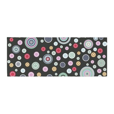 Suzanne Carter Circle Circle II Bed Runner