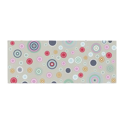 Suzanne Carter Circle Circle I Bed Runner