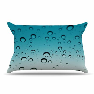 Kristi Jackson 'Rain' Ombre Pillow Case