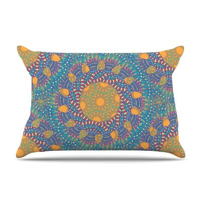 Miranda Mol Prismatic Abstract Pillow Case Color: Orange