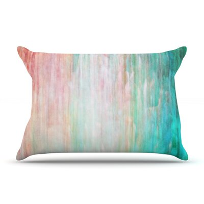Iris Lehnhardt Color Wash Teal Pillow Case