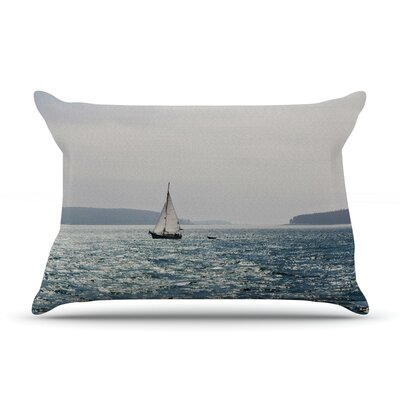 Jillian Audrey Sail The Sparking Seas Pillow Case