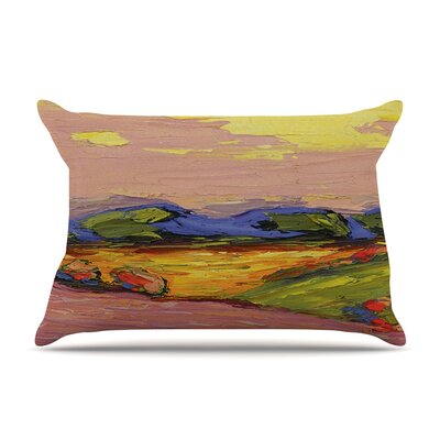 Jeff Ferst Pastoral View Painting Pillow Case