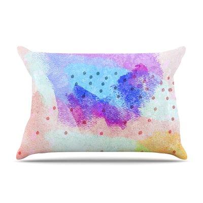 Iris Lehnhardt Summer Pastels Painting Pillow Case