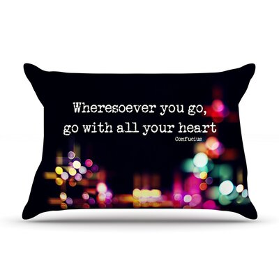 Ingrid Beddoes Road Trip Neon Pillow Case