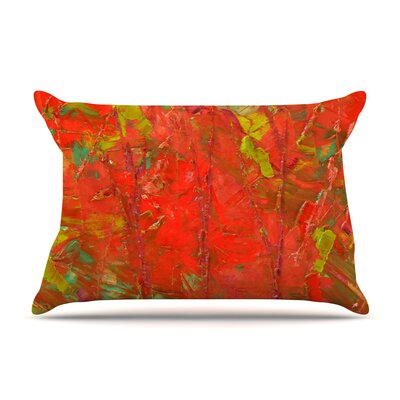 Jeff Ferst Crimson Forest Pillow Case