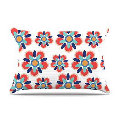 Jolene Heckman Red Folksy Pillow Case