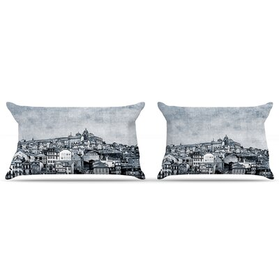 Ingrid Beddoes A Riberia City Pillow Case