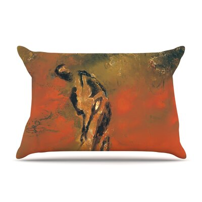 Josh Serafin Chip Golf Player Pillow Case