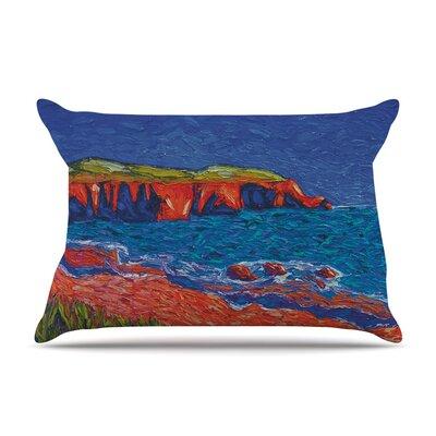 Jeff Ferst Sea Shore Coastal Painting Pillow Case