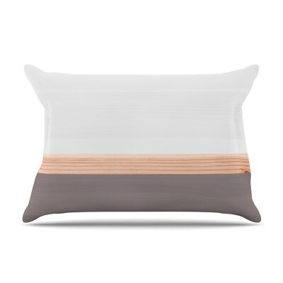 Spring Swatch - Lavender Wood Pillow Case Color: Gray