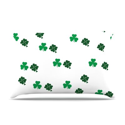 Shamrockin St. Patrick Pillow Case