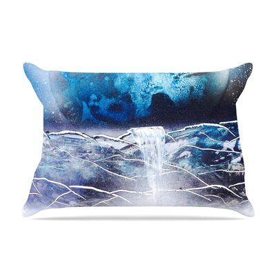 Infinite Spray Art Surreal Falls Planet Pillow Case