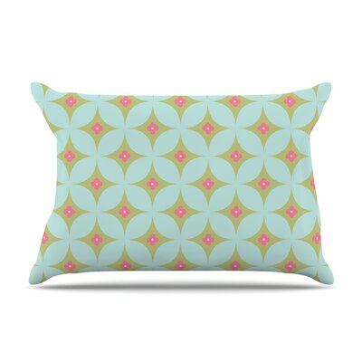Retro Aquamarine Pillow Case