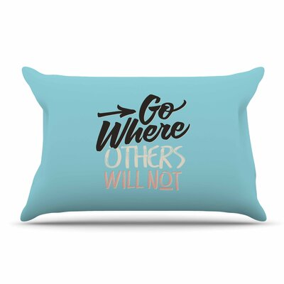 Juan Paolo Go Where Others Will Not Vintage Pillow Case