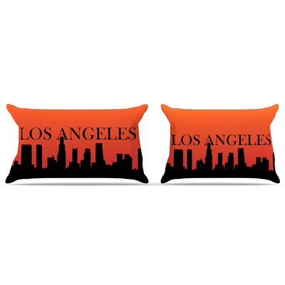 Los Angeles Pillow Case