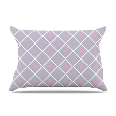 Lilac Web Pillow Case