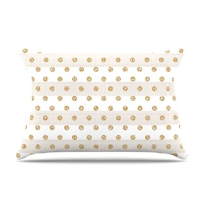 Pellerina Design Linen Polka Stripes Dots Pillow Case