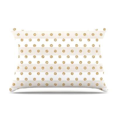 Pellerina Design Linen Polka Stripes Dots Pillow Case